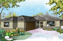 Ranch House Plans with Side Garage