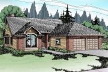Traditional House Plans - Akron 10-038 Design
