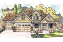Traditional House Plans - Claredon 30-564 Design