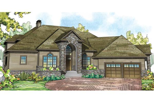 Tudor House Plans - Addison 30-795 Design