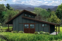 Barn Shed Roof House Plans