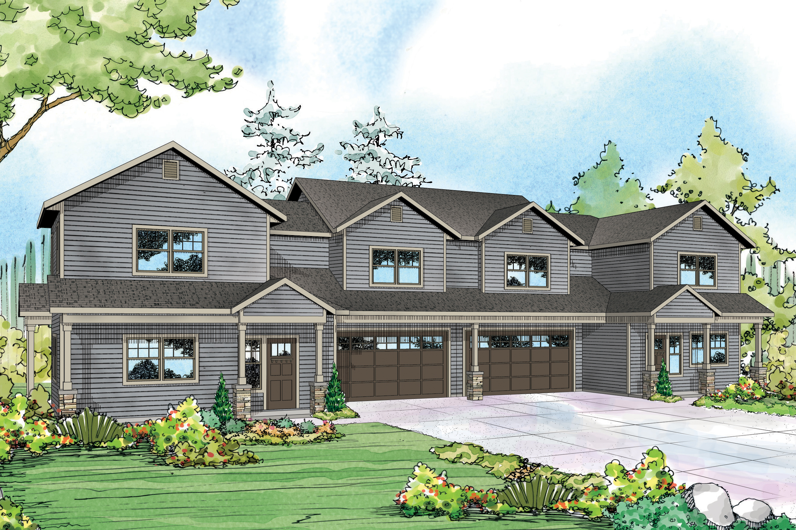 Country House Plans  Warrendale 60036  Associated Designs
