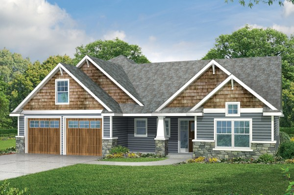 Country Craftsman House Plans