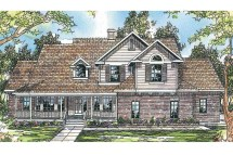 Country House Plans - Heartwood 10-300 Design