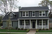 Two-Story Country House Plans with Porches