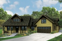 Craftsman House Plans with Porches