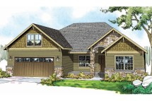 Craftsman House Plans One Story Home