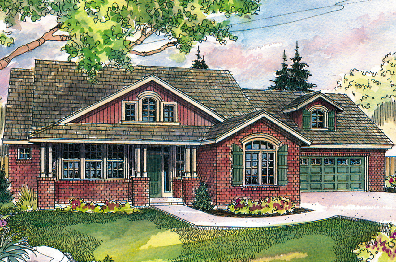 Craftsman House Plans  Heartsong 10470  Associated Designs
