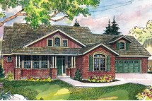 Craftsman House Plan Front Elevation