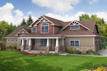 Craftsman House Plans - Tillamook 30-519 Design