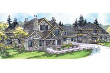 European House Plans - Chesterson 30-649 Design