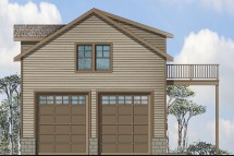 2 Story Garage with Apartment Plans