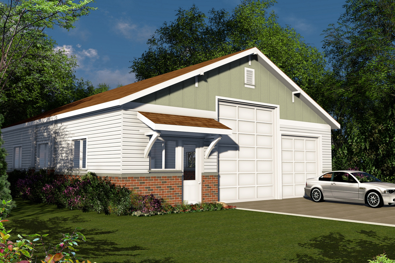 Traditional House Plans  RV Garage 20131  Associated Designs