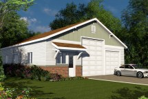 Traditional House Plans - Rv Garage 20-131