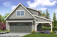 Country House Plans - Garage w/Loft 20-157 - Associated ...