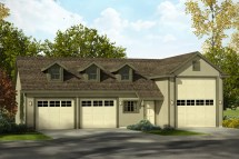House Plans with RV Garage