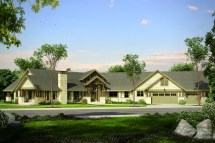 Beautiful Lodge Style House Plan - Petaluma 31-011