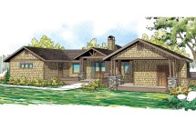 Lodge Style House Plans - Sandpoint 10-565