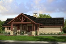 Lodge Style Ranch House Plans