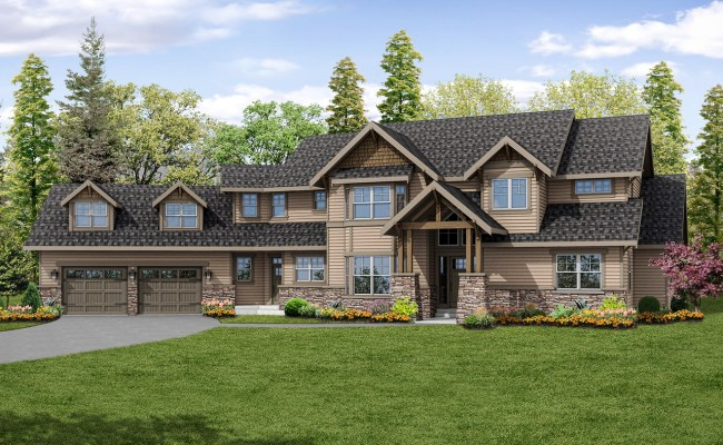 Lodge Style House Plans Timberline 31 055 Associated
