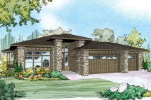 Small Prairie Style Home Plans