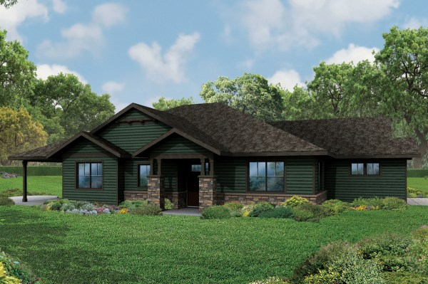 New Ranch Style House Plans