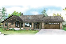 Ranch Style Lake House Plans