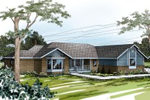 Ranch House Plans with Windows