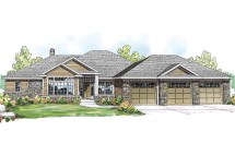 Lake House Plans Ranch Style Home