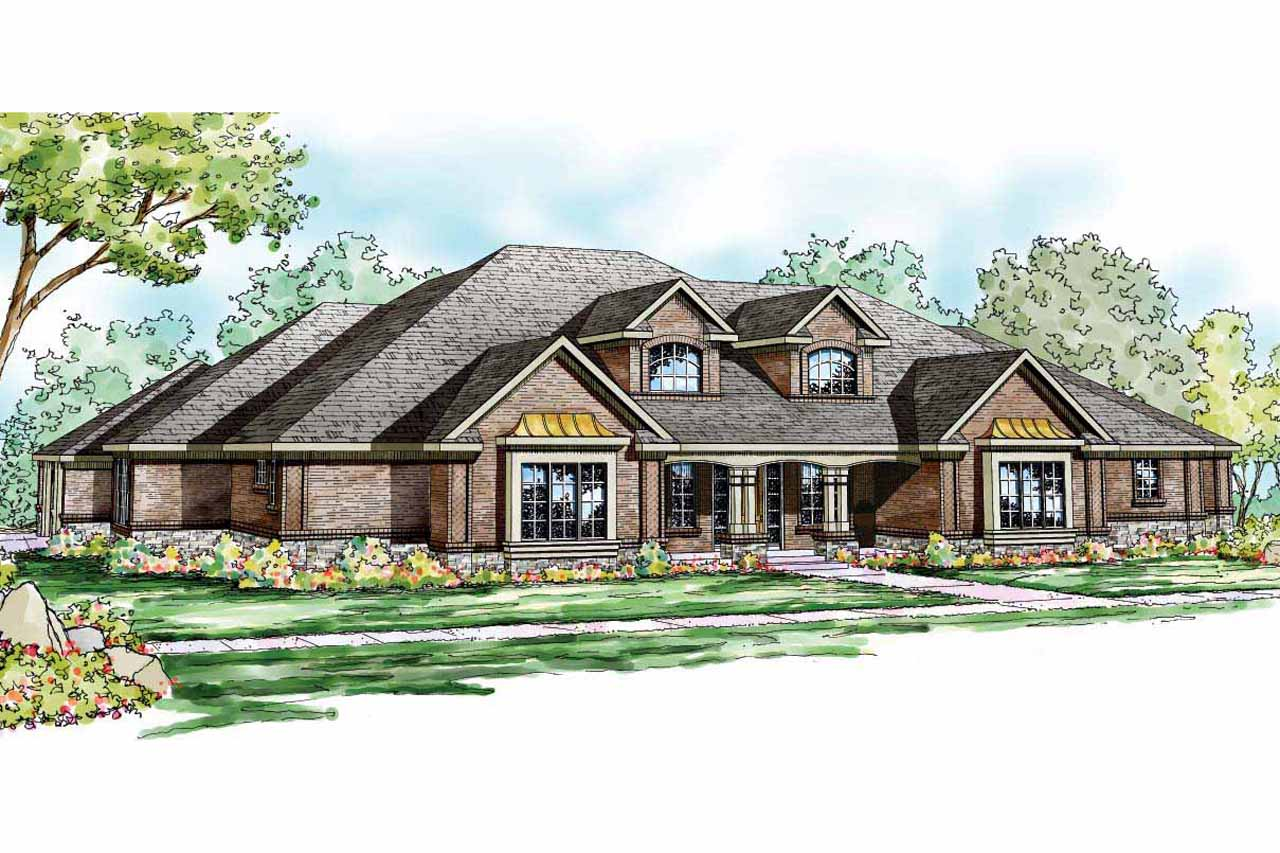 Traditional House Plans  Monticello 30734  Associated Designs
