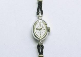 lvw-204 Ladies Elgin watch, 14K white gold