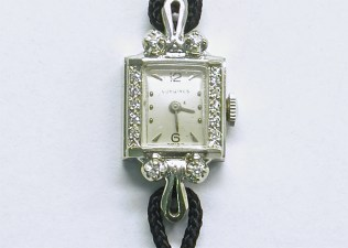 lvw-205 Ladies Longines watch, 14K white gold