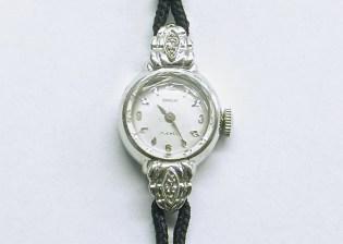 lvw-206 Ladies Ormont watch, 14K white gold