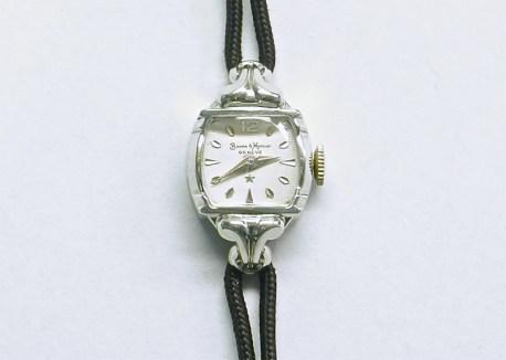 lvw-207 Ladies Baume & Mercier watch, 14K white gold