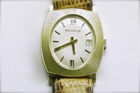 mvw-408 Mens 14K yellow gold Benrus