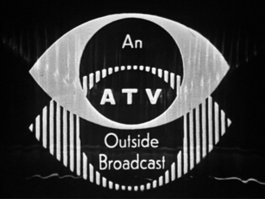 An ATV Outside Broadcast - used at the end of Sunday Night at the London Palladium