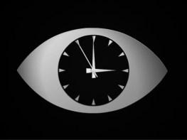 Recreation of ATV London's clock used 1964-1968