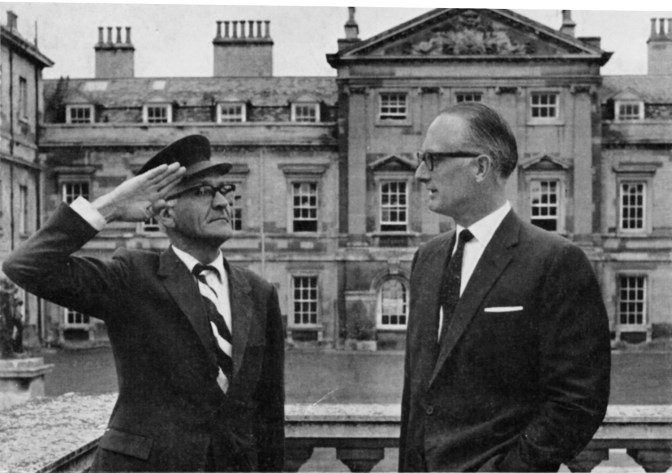 The Duke made a success of it all despite the advice he received from his guide - none over than that master of gobbledegook and double-talk, Stanley Unwin