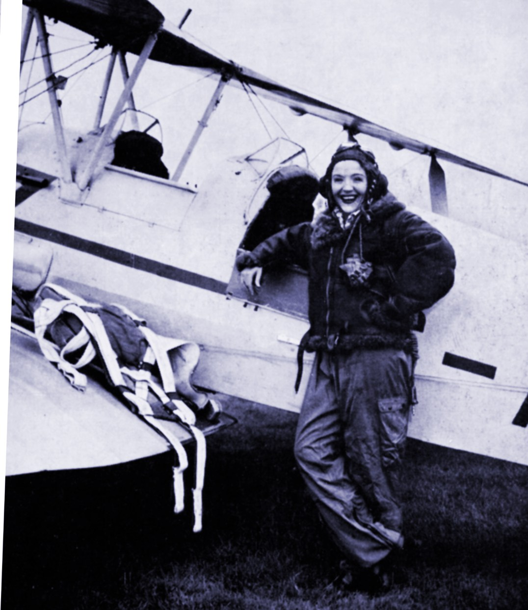 Midland viewers followed Noele's progress when she qualified as a pilot after a training course at Birmingham Airport. This series showed the instruction from basic tuition to the time when she went solo for the first time.