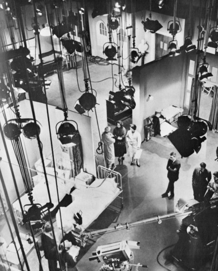 The sets of Emergency - Ward 10 at Elstree