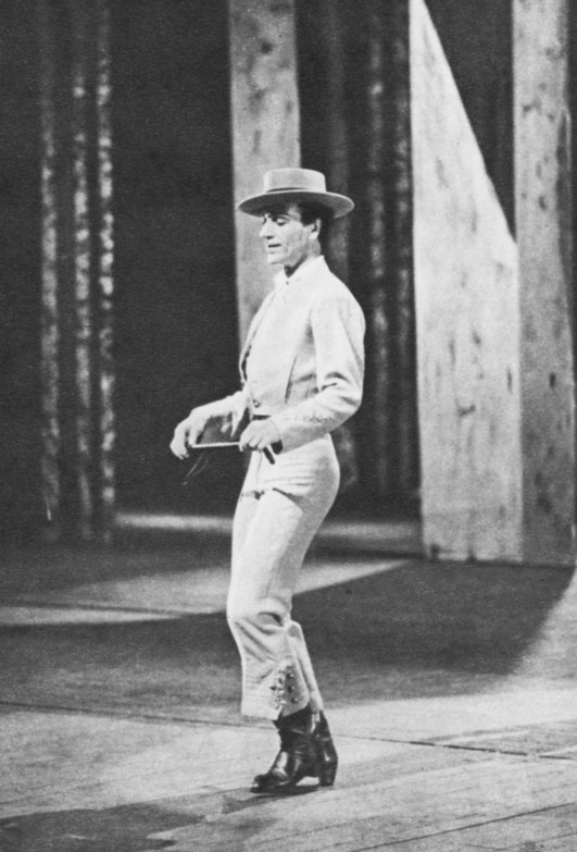 JOSE GRECO, the great Spanish dancer
