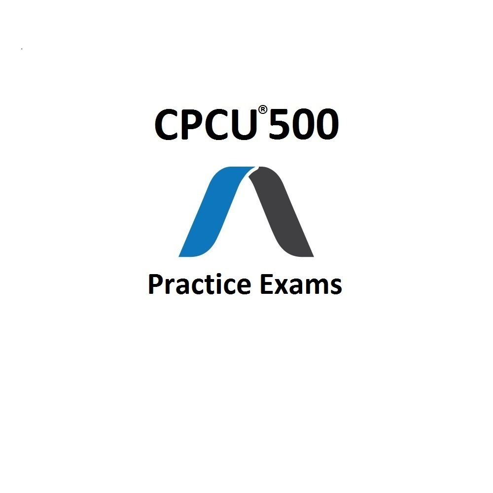 CPCU 500 Practice Exam And Study Guide