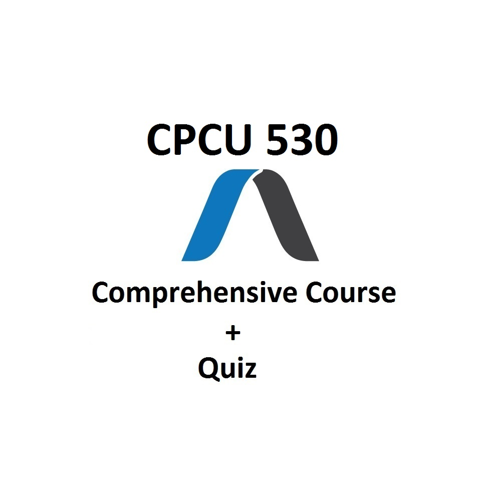 CPCU® 530 Practice Exam And Study Material