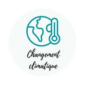 icône changement climatique