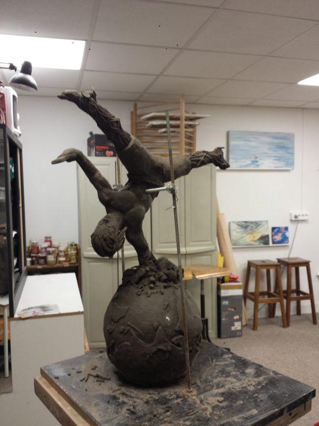 La sculpture de Kévin