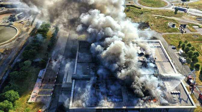 Omerta sur une catastrophe industrielle majeure aux portes de Paris