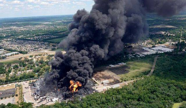 Incendie de Lubrizol : Deux ans après Rouen, nouvelle catastrophe dans une usine aux Etats-Unis