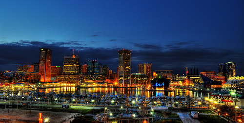Baltimore skyline -- photo by: NearDC
