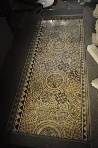 Mosaïque d'une maison d'habitation (VIe siècle) - Musée d'Aquitaine
