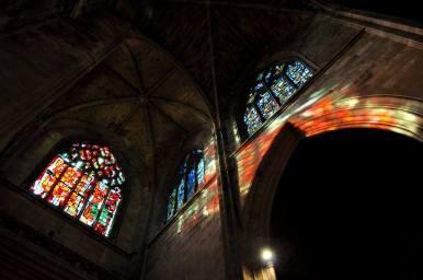 Vitraux - Époque contemporaine - Basilique Saint-Michel